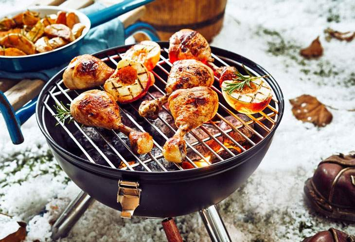 best camping grill griddle combo
