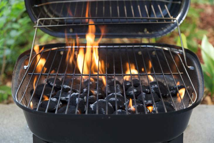 best portable charcoal grill for beach