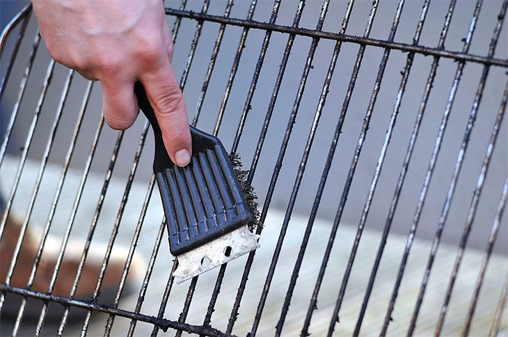 how to season a grill top